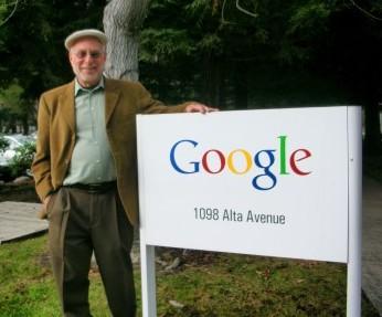 Noah Alper visits Google to speak about Business Mensch